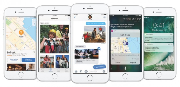 Apple presenta iOS 10