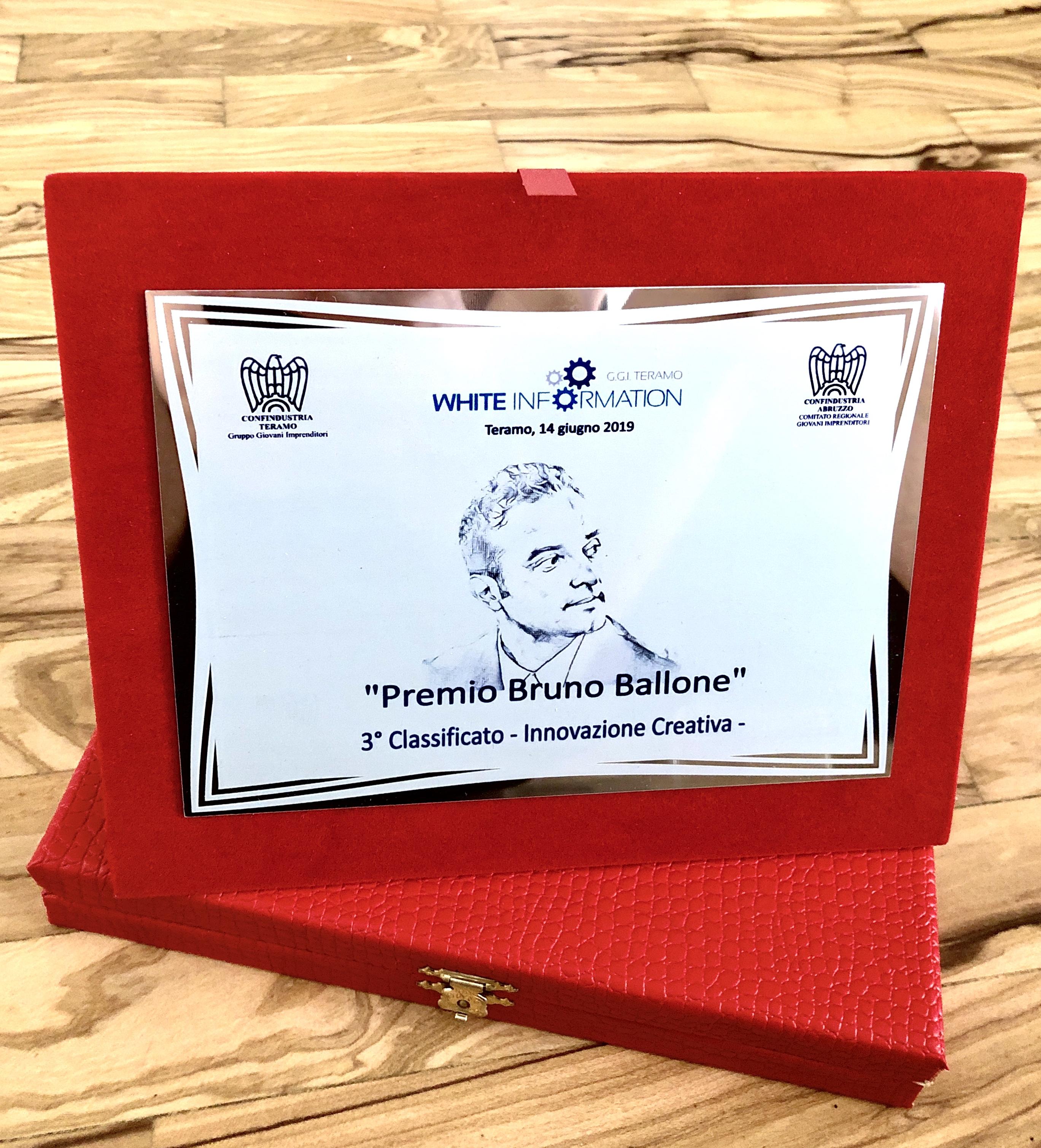 3 Classificato - Premio Bruno Ballone
