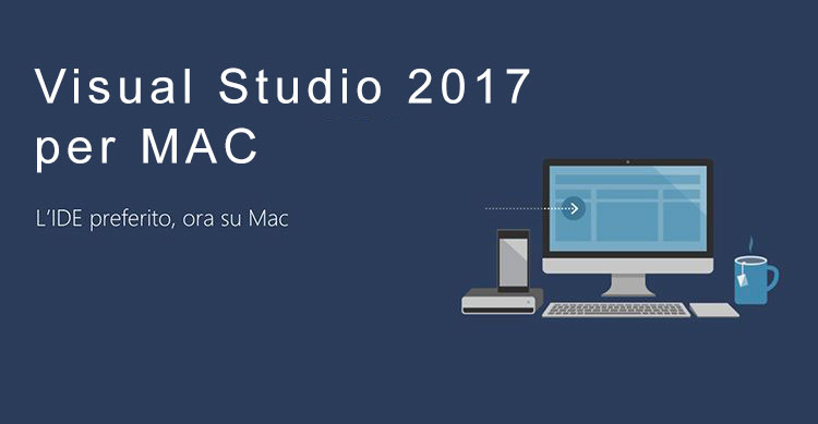Visual Studio 2017 per Mac